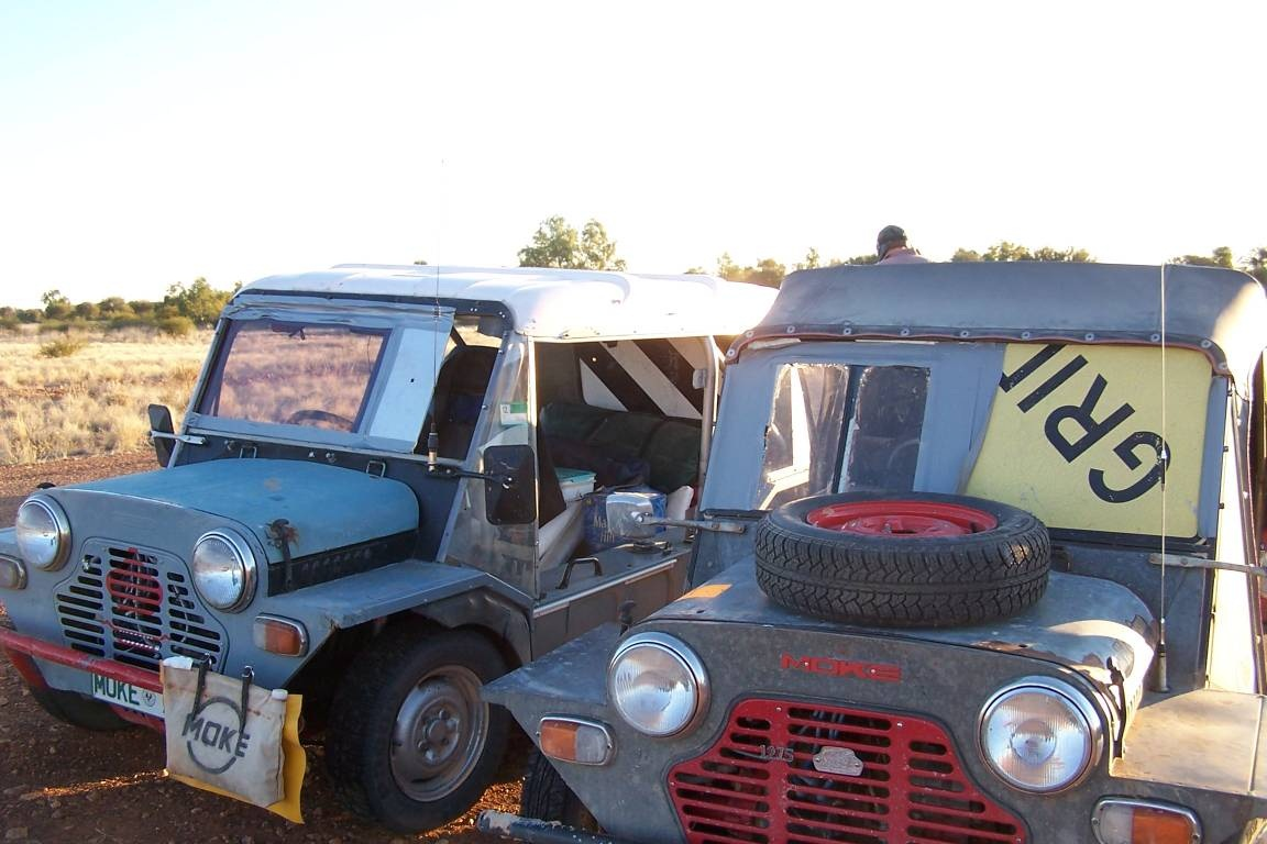 Twin Windscreen repairs on Thomas and the Rat moke