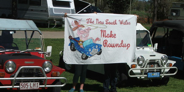 Tamworth Moke Round Up 2012