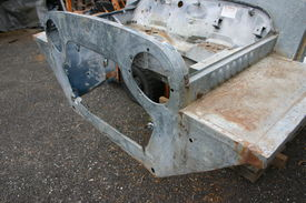 1980 Moke Galvanised Shell For Sale