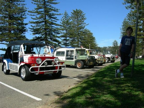 Sydney Mokes out for the first International Moke Day in Sydney in 2007