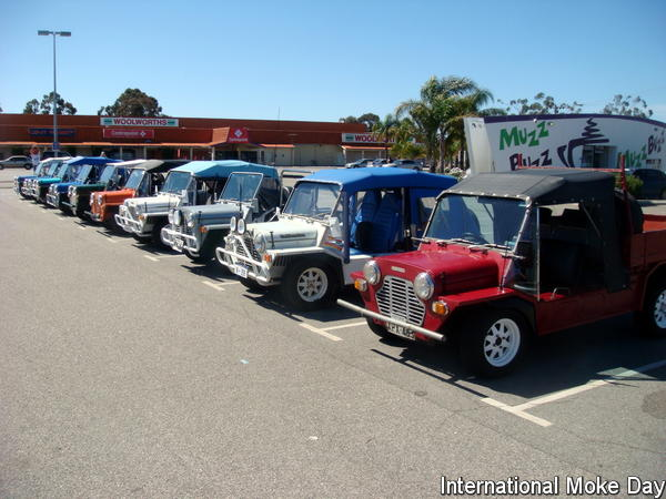 International Moke Day  Perth 2009