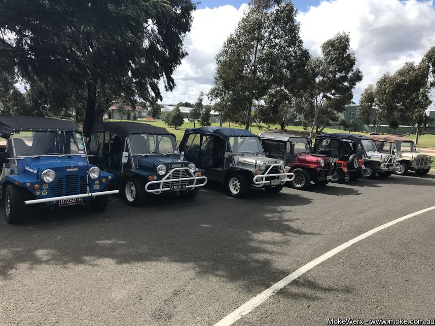 Melbourne I MD 2017 - The Mokeslined up ready to go.