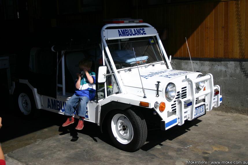 The Moke Ambulance