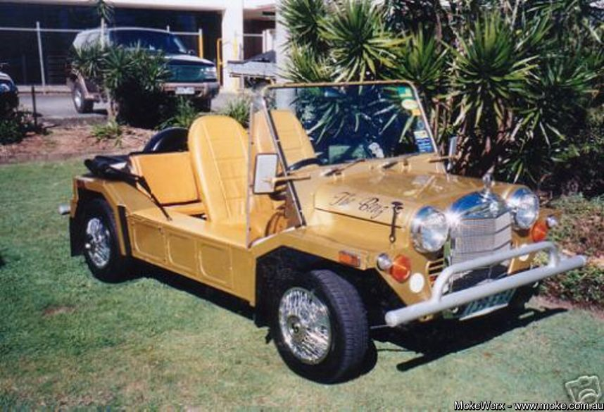Californian Export in Gold with Merc grille