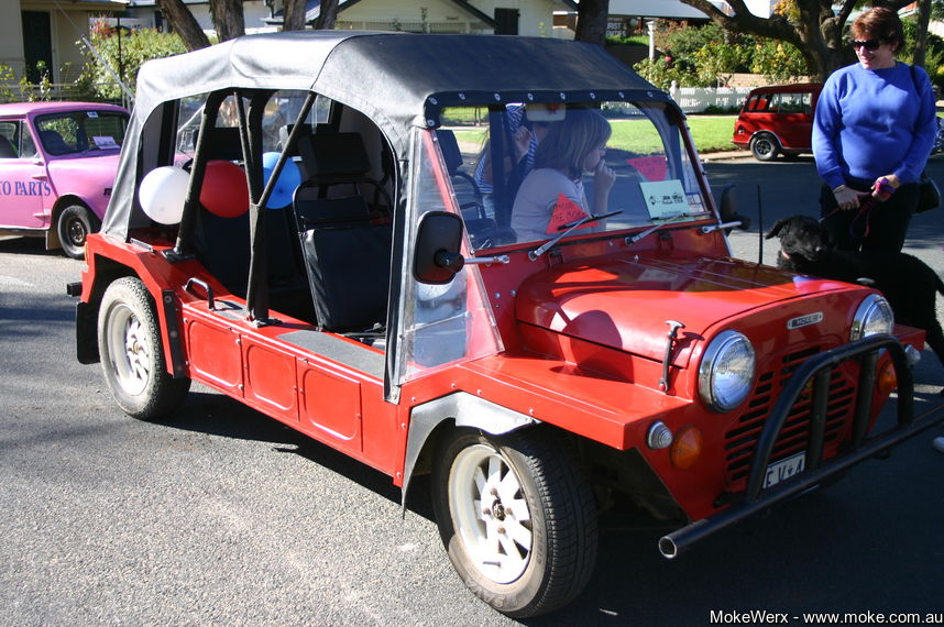 Red Export Moke at Hay Nationals in 2007