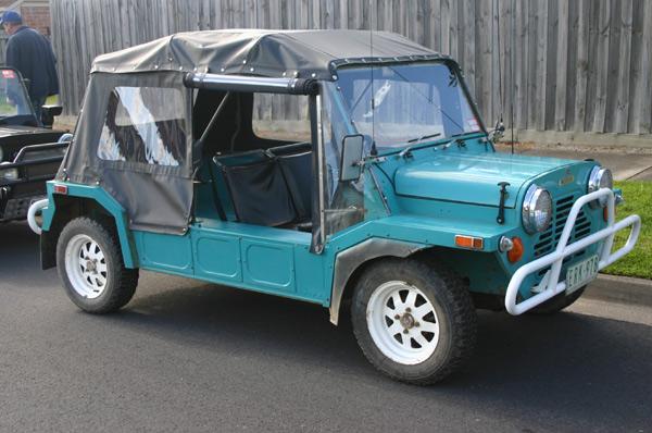 Gambier Turquoise Export Moke