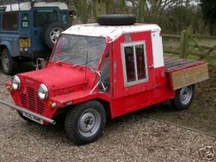 Californian Export Moke in the UK with tray top.