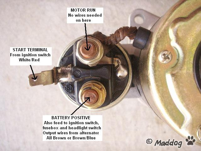 start solenoid wiring with 91 Fitting A Gemini Starter on Cat C12 Wiring Diagram in addition Showthread additionally 7smfi 1988 15 Hp Electric Start Evinrude Kicker Engine Remote as well Autopark also Nfw.
