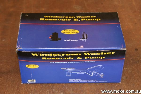 Moke Washer Bottle Kit