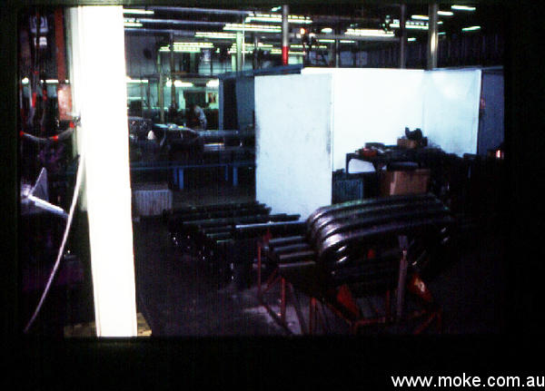 Moke panels from Factory tour