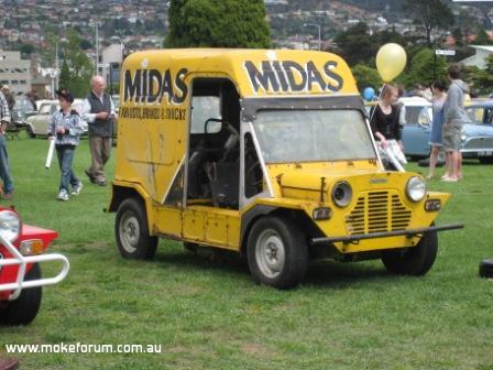 Postie Moke - The MIdas Moke