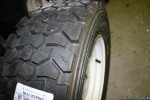 mage of the Dmack tyres DMG1 tread on Moke Rim.