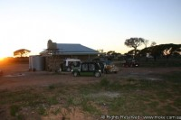 Sunrise at the Shearers Quarters koonalda Homestead