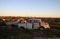 Vehicle Graveyard at Koonalda Homestead