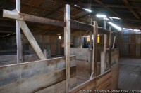 Inside the Koonalda Shearing Shed