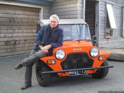Author Paul Jennings on his 1973 Moke
