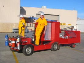 Emergency Response Moke at Driveline Systems in Victoria