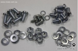 All the available Dash screws available with this kit